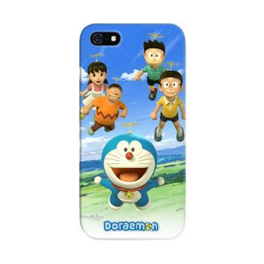 Indocustomcase Doraemon Cover Casing for Apple iPhone 5/5S/SE
