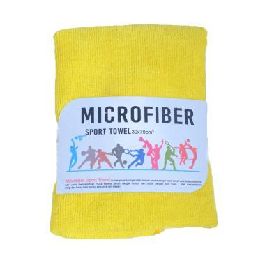 Mipacko Microfiber Handuk Olahraga - Yellow [30 x 70 cm]