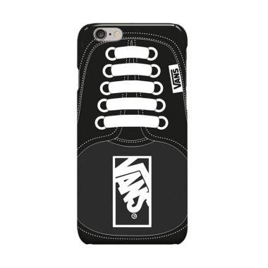 Indocustomcase Black Vans Shoes Cov ... Casing for Apple iPhone 6
