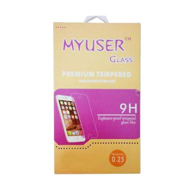 MyUser Tempered Glass Screen Protector for Asus Zenfone 3 Laser