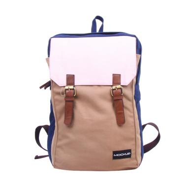 Mock Up BBP.49 Three Color Backpack - Navy ...