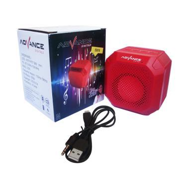 Advance ES010N Portable Mini Blueto ... Merah [Support Handsfree]