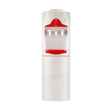 Sanken HWE-69CW Dispenser Air - Putih Merah [Khusus Jabodetabek]