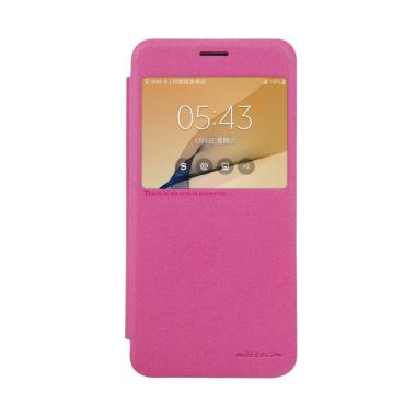 Nillkin Sparkle Leather Casing for  ... g Galaxy On 5 2016 - Pink