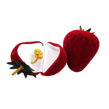 Spicegift Strawberry Box Export Quality Kotak Cincin