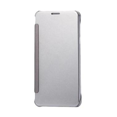 Wallet Mirror View Flip Cover Casin ...  G Plus 5.5 inch - Silver