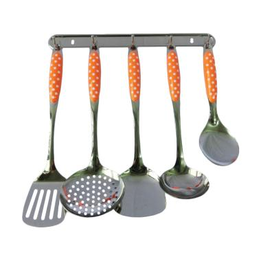 Nakami JXA 010 House Wares Kitchen  ... an Dapur - Orange [7 pcs]
