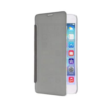 best service cc511 1b27c Wallet Mirror View Flip Cover Casing for Samsung Galaxy A510 A5 2016 -  Silver