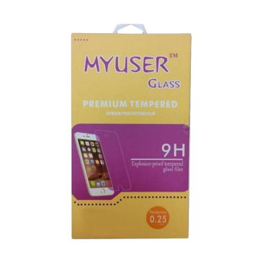 MyUser Tempered Glass Screen Protector for Oppo R815 - Clover - Clear