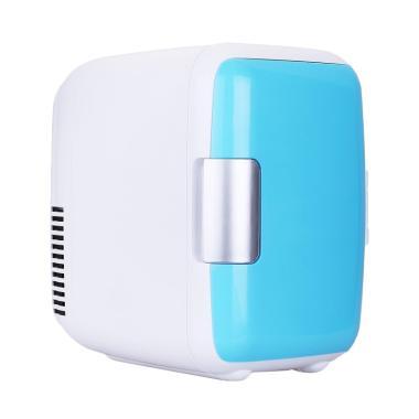 Tokuniku 4L Front Door Cooler and Warmer Car Refrigrator - Biru