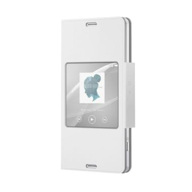 SONY Original SCR26 Style Up Cover  ... Xperia Z3 Compact - White