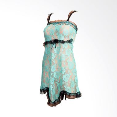 Kimochi Me Lingerie GLIN525 Dress Lingerie Transparent - Hijau