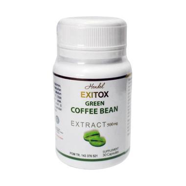 Herbal Super Exitox Green Coffee Bean Obat Pelangsing Suplemen