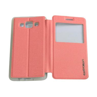 Easybear Flip Cover Flipshell Casin ... laxy A5 A500F - Pink Muda