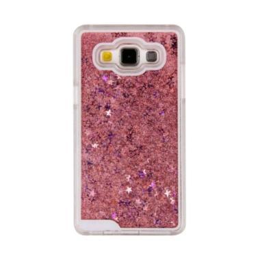 Case Water Glitter Aquarium Softcase Casing for Samsung Galaxy J5 2016 J510 - Pink