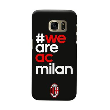 Indocustomcase AC Milan ACM01 Cover Casing for Samsung Galaxy S6