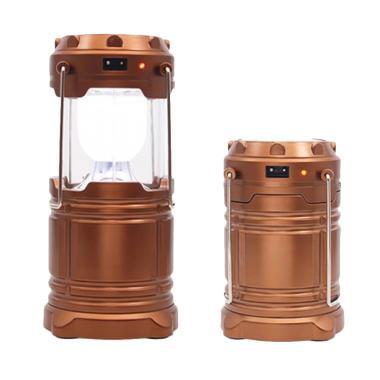 Aimons Lentera Lampu Emergency 6 LE ... able Camping Light - Emas