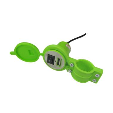 harga Colokan USB Charger Motor with Switch On Off for Smartphone [Anti Air] Blibli.com