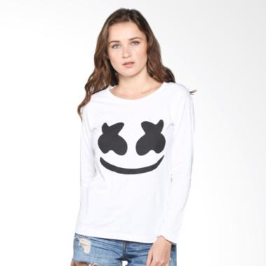 Tumblr Tee Marshmello T-Shirt Kaos Wanita Lengan Pan... Rp 45.000 Rp 90.000  50% OFF. Tumblr Tee Go away ... 47bb1c71c1