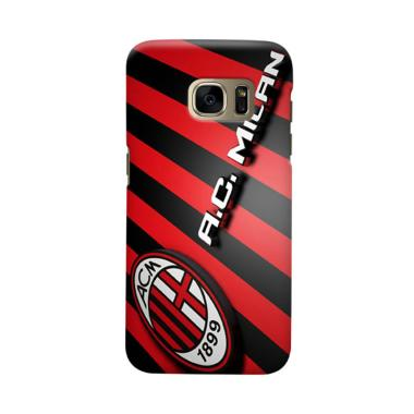 Indocustomcase AC Milan ACM05 Cover Casing for Samsung Galaxy S6
