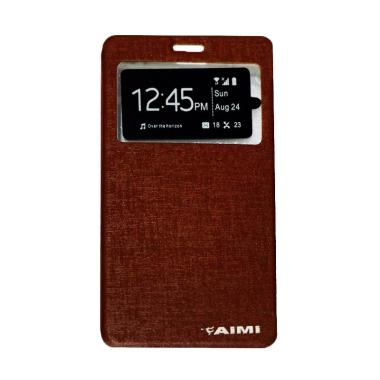 Aimi Flip Cover Casing for Apple iP ...  6S Plus 5.5 Inch - Brown