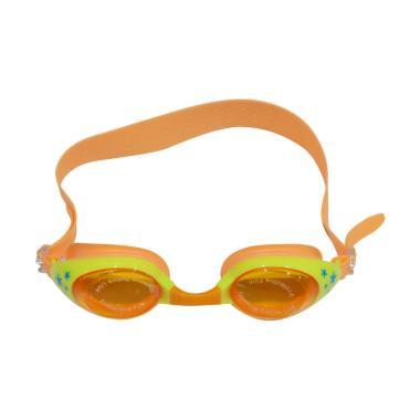 QCF Anti Fog UV Protection Kacamata Renang Anak - Orange