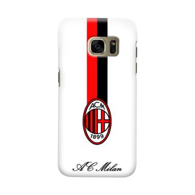 Indocustomcase AC Milan ACM07 Cover Casing for Samsung Galaxy S7
