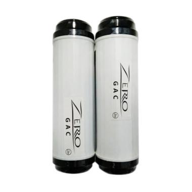 Zero GAC Blue Gold Granular Activited Carbon Perlengkapan Saluran Air [10 Inch]