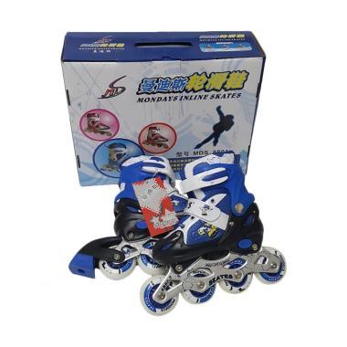 Allsportinggoods Monday Skate Sepatu Roda - Biru [Size S]