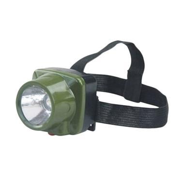 Eigia LED Cree Military Lampu Kepal ... - Hijau Army [Waterproof]