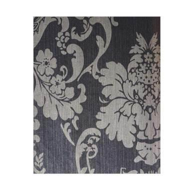 Java Wallpaper XTE3003 King Motif B ...  Dekorasi Dinding - Hitam