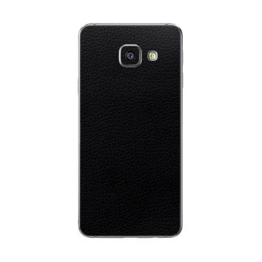 Premium Skin 3M Black Leather Skin Protector for Samsung A9 Pro