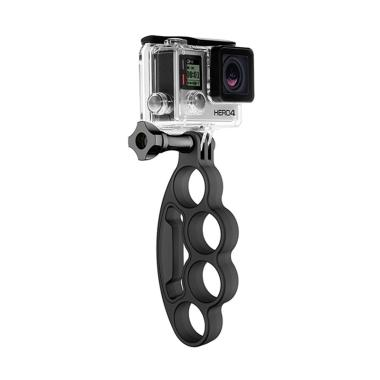 Action Cam Knuckles Fingers Grip fo ... a B-PRO/Xiaomi Yi - Hitam