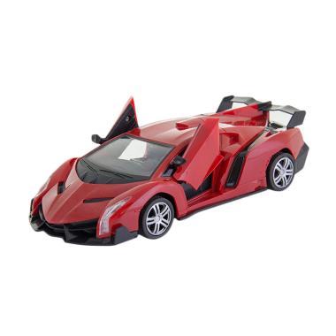 Momo Wild Suport Car R/C Car Series Mobil Remote Control Mainan Anak - Merah