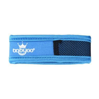 BabyGo Neoprene Mosquito Repellent Wristband Gelang Anti Nyamuk - Blue