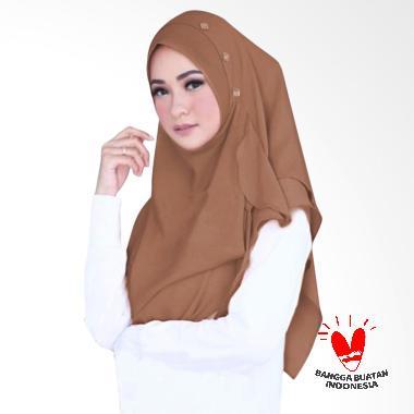 Hijabku Murah Flowing Swarovski Kerudung Instant- ...