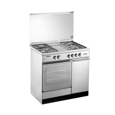 Modena FC7941S Kompor with Oven Fre ... ku/90 cm/Stainless Steel]