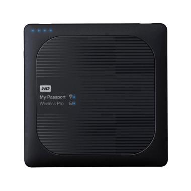 WD My Passport Wireless Pro Portabl ... TB/ WiFi AC/ SD/ USB 3.0]