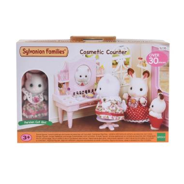 Sylvanian Families Cosmetic Counter Set Mainan Anak