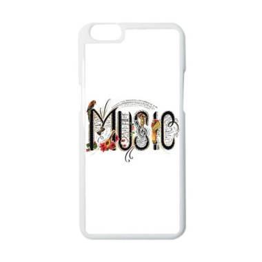 CARSTENEZIO Motif Alat Musik Music 15 Casing for OPPO A39 - Putih