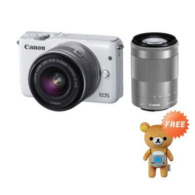 Canon EOS M10 EF-M 15-45mm Kamera M ... h + Free Boneka Rilakkuma