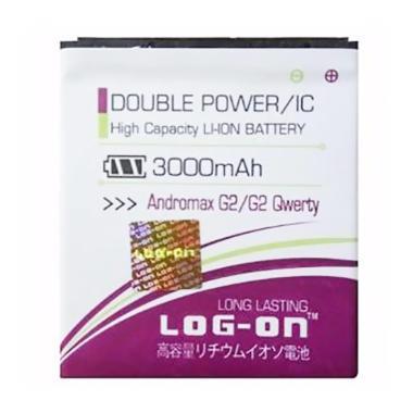 Lon On Double Power and IC Battery  ... 3000 mAh/Garansi 6 Bulan]
