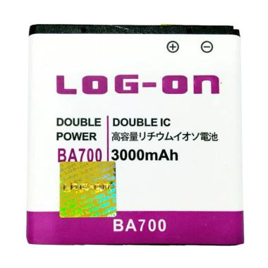 Log On BA700 Double Power and IC Ba ... 3000 mAh/Garansi 6 Bulan]