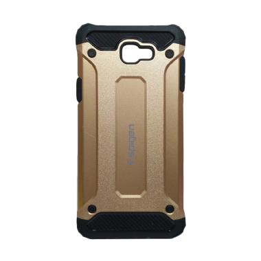 promo code d39b2 4ec5c Spigen Iron Army Cover Casing for Samsung Galaxy J7 Prime - Gold