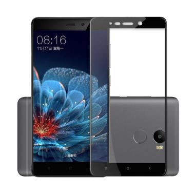 HMC Tempered Glass Screen Protector ... me - List Black [3D Full]