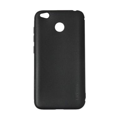 Matte softcase Casing for Xiaomi Redmi 4x - Black