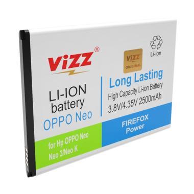 Vizz Double Power Baterai for OPPO  ... O K/R813/R813K [2500 mAh]