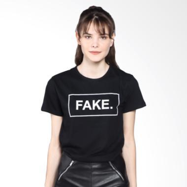 ELLIPSES INC Tumblr Tee Fake T-Shirt Kaos Wanita ...