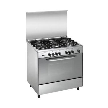 Modena FC3955 Kompor with Big Oven  ... ku-90 cm-Stainless Steel]