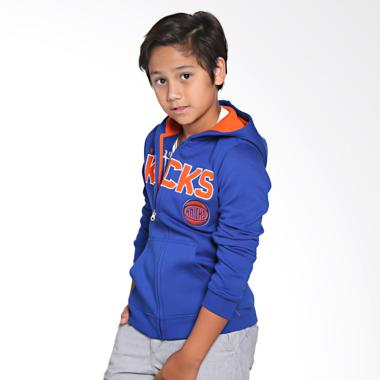 NBA Outerstuff 28OID New York Knick ... Hoodie Jacket Basket Anak